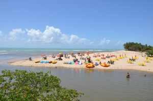 Praia da Sereia de Pratagi  - Praias-360