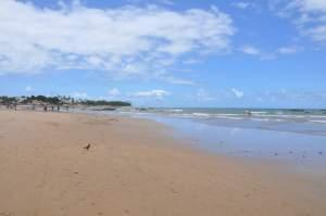 Praia de São Marcos - Final  - Praias-360