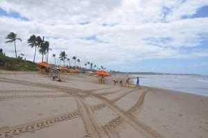Praia de Jaguaribe  - Praias-360