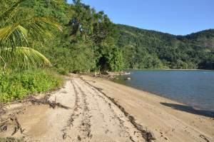 Praia da Ponta de Paraty Mirim  - Praias-360