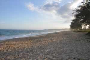 Praia de Balneário das Garças - Praias-360