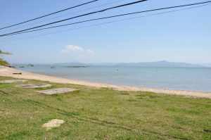Praia de Cacupé - Estrada   - Praias-360