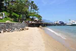 Praia do Iate Clube de Santos - Praias-360