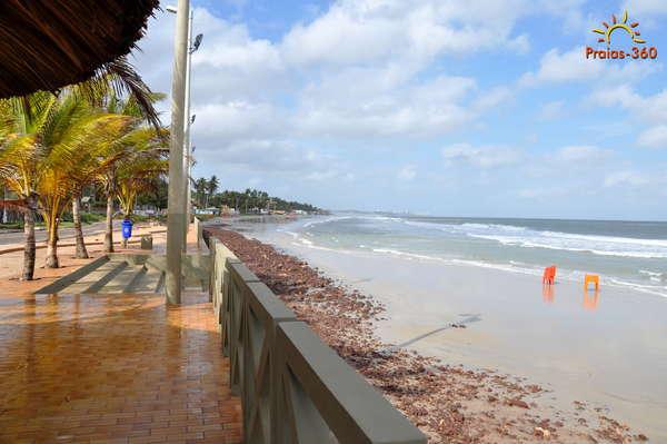 Resultado de imagem para praia do meio sao luis maranhao